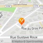 Carte de BOULANGERIE PATISSERIE GASTALDI ET FILS Hyères, France