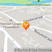 Kaart Uludag Grillroom Snelrestaurant Deventer, Nederland