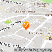 Carte de IMSII SA Montigny-lès-Metz, France