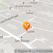 Kaart Taormina Ristorante Deventer, Nederland