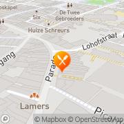 Kaart Humphrey's Restaurant Venlo, Nederland