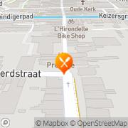 Kaart Jeruzalem Shoarma Bar Pizzeria Meppel, Nederland