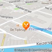 Kaart Tipbrug Restaurant Zaal De Meppel, Nederland
