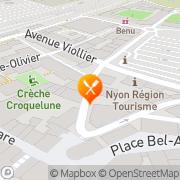 Carte de Croix-Verte Genève, Suisse