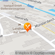 Karte Angelika's Imbiss & Partyservice Isselburg, Deutschland