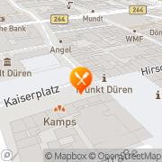 Karte Scoozi Düren Scoozi Düren, Deutschland