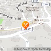 Carte de BOULANGERIE DES PALMIERS La Croix-Valmer, France