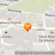 Kaart Wapen van Westerbork Café Restaurant Westerbork, Nederland