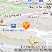 Carte de Le Pain Quotidien Lausanne, Suisse