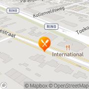 Kaart Chinees-Indisch Restaurant Almelo, Nederland