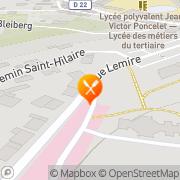 Carte de DOSDA SARL Saint-Avold, France