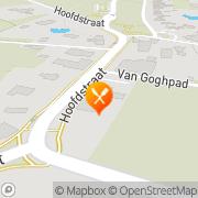 Kaart Bistro Tante Sweel Zweeloo, Nederland