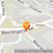 Kaart Jeruzalem Grillroom Emmen, Nederland