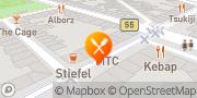 Karte Pizza HutD Köln, Zülpicher Straße Köln, Deutschland