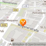 Karte T. S. Gastronomie GmbH Essen, Deutschland