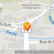 Carte de VALON SA Metzeral, France