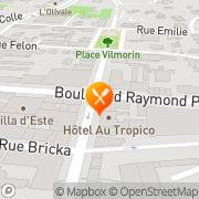 Carte de SARL FOURNIL DE LA REGENCE Antibes, France