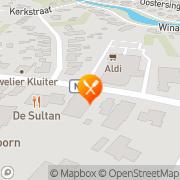 Kaart Peking Chinees-Indisch Restaurant Vlagtwedde, Nederland