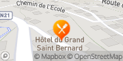 Carte de Hôtel du Grand-St-Bernard Liddes, Suisse