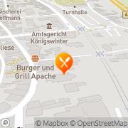 Karte Restaurant Zur Barriere Königswinter, Deutschland