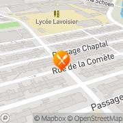 Carte de ETS A ANSELM Mulhouse, France