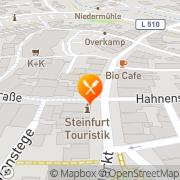 Karte Joy Gastro GmbH Steinfurt, Deutschland