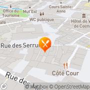 Carte de STE EXPLOITATION MAISON HELMSTETTER SARL Colmar, France