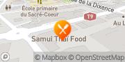 Carte de Samui Thai Food Sion, Suisse