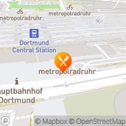 Karte Restaurant Live Station Dortmund, Deutschland