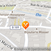 Carte de STE EXPLOIT BOULANGERIE PATISSERIE REGIN Obernai, France
