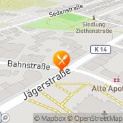 Karte Gaststätte Euro-Grill Lünen, Deutschland