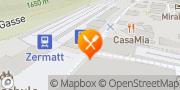 Carte de Bahnhofbuffet Non Solo Treno Zermatt, Suisse