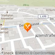 Karte Restaurant Zur alten Gerberei Annweiler am Trifels, Deutschland