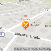 Karte Pizzeria Pizza Poldi Osnabrück, Deutschland