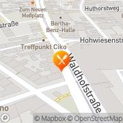 Karte Imbiß Pizzeria Delia Mannheim, Deutschland