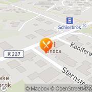 Karte Restaurante Lindos Ganderkesee, Deutschland