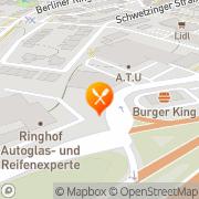 Karte Burger King Viernheim, Deutschland