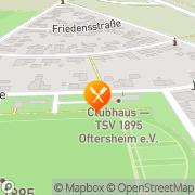 Karte Udovicic GmbH Oftersheim, Deutschland