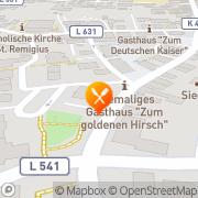 Karte Imbiß-Pizzeria Corona Heddesheim, Deutschland