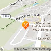 Karte Kösters Schloß Holte-Stukenbrock, Deutschland