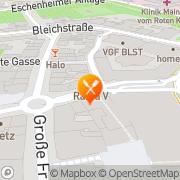 Karte Rama V Frankfurt am Main, Deutschland