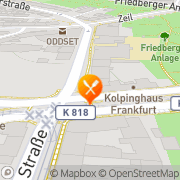 Karte Restaurant Am Allerheiligentor Frankfurt am Main, Deutschland