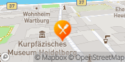 Karte Backmulde Heidelberg, Deutschland