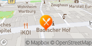 Karte Pizza Hut Heidelberg, Hauptstraße Heidelberg, Deutschland
