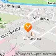 Karte Restaurante La Taverna Hanau, Deutschland