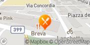Map Sottovento fish bar & restaurant Lugano Lugano, Switzerland