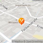 Karte Restaurant Zur Krone Erlensee, Deutschland
