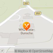 Karte Wilhelm Kiele-Dunsche GmbH & Co. KG Willebadessen, Deutschland
