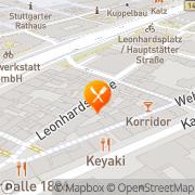 Karte Weinstube Widmer Stuttgart, Deutschland