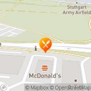 Karte Burger King Filderstadt, Deutschland